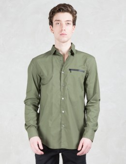 Opening Ceremony Zip Pocket Shirt Picture