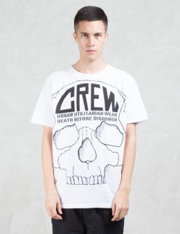 Crew by Subcrew Full Skull T-Shirt Picture