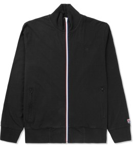 UNDEFEATED Black Double Knit Full Zip Jacket Picture