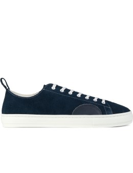 "DELUXE Navy ""Deluxe X Buddy"" Sneakers Picture"