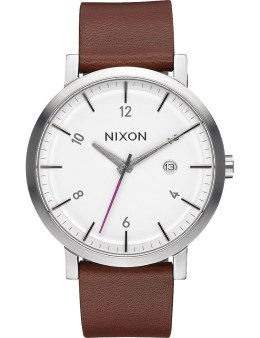 Nixon White/Chestnut Rollo Watch Picture