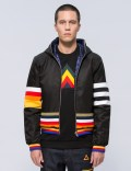 ICEBERG Multi Stripe Reversible Down Jacket Picutre