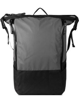 Nocturnal Workshop Black Zip Top Backpack Picture