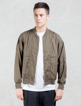 VALLIS BY FACTOTUM Reversible Bomber Jacket Picture