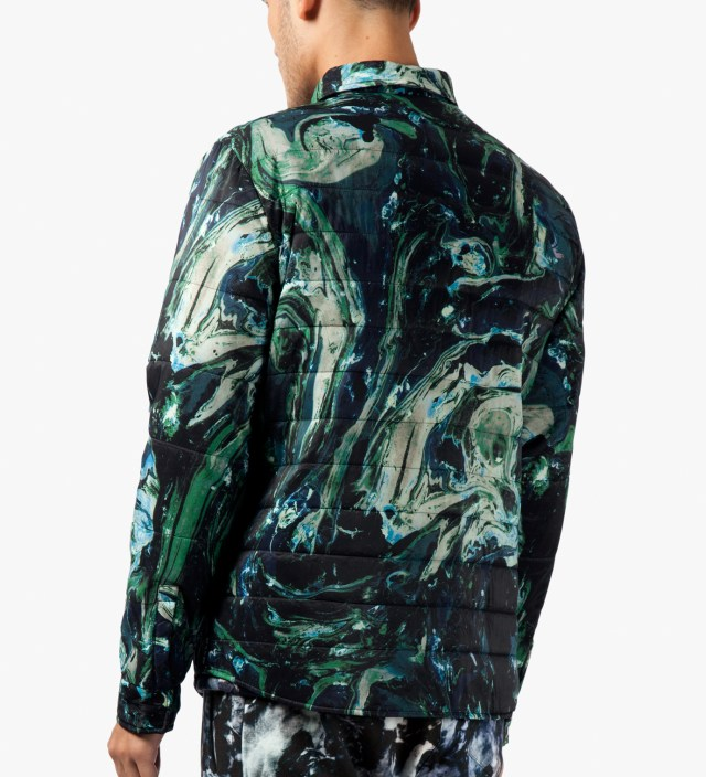 Msgm Navy Green Giubbino Shirt Jacket Hbx