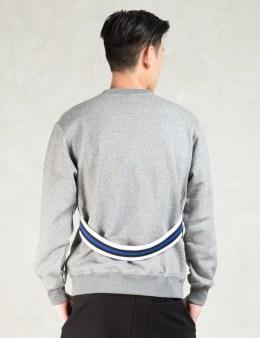 PHENOMENON Grey W Rib Crewneck Sweatshirt Picture