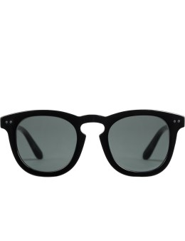 Stussy Black with Dark Grey Lens Luigu Sunglasses Picture