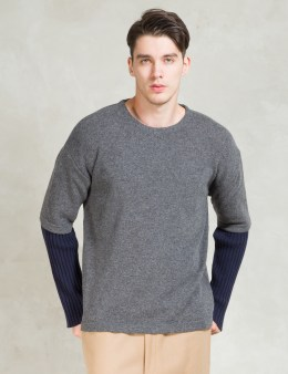 Discovered Grey L/S Layered Sweater Picture