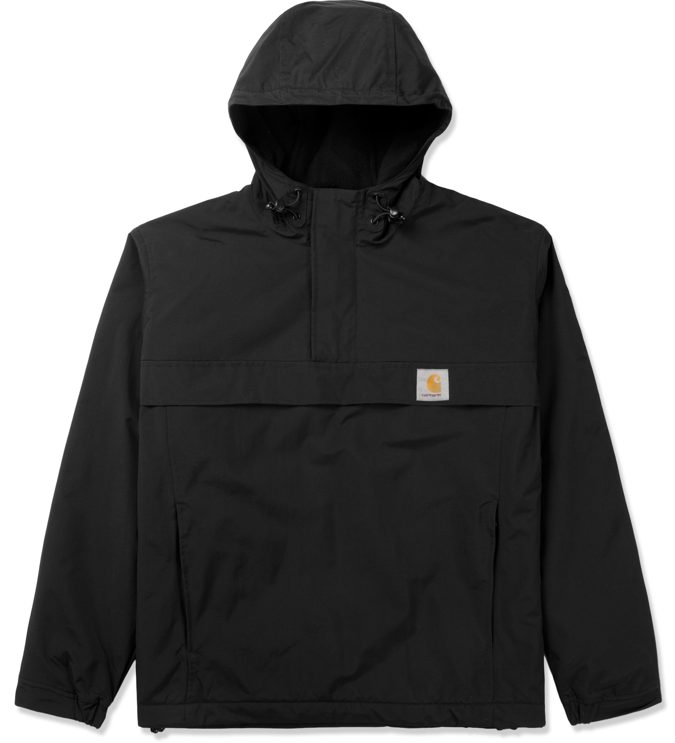 carhartt work in progress black nimbus pullover jacket hbx. Black Bedroom Furniture Sets. Home Design Ideas