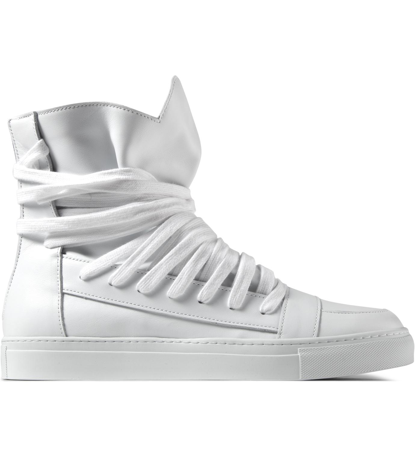 KRISVANASSCHE White Multi Laces Sneakers