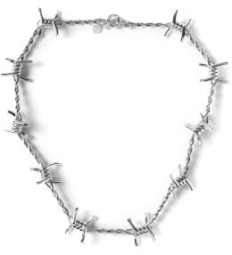 AMBUSH Silver Classic Chain 3 Necklace Picture