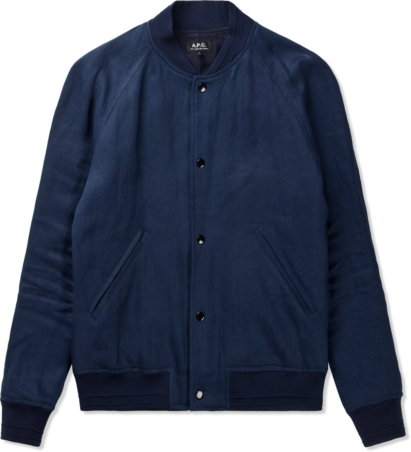 A.P.C. Dark Navy Bomber Jacket