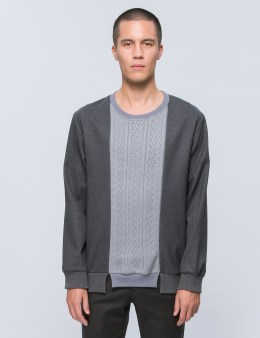 Discovered Knit Mix Pullover Picture
