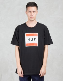 HUF Poster Box Logo S/S T-Shirt Picture