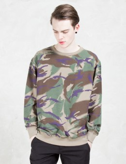 maharishi Reversible Camo Crew Sweat Picture