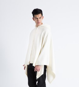 UNUSED White Poncho Sweater Picture