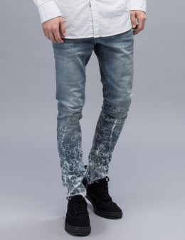 """VAl Kristopher """"Fading Knowledge"""" Denim Jeans Picture"""