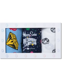 Happy Socks Billionaire Boys Club x Happy Socks Boxer Brief Box Set Picture