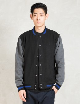 The Quiet Life Black/charcoal Classic Coach Jacket Picture