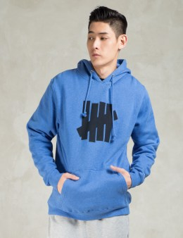 UNDEFEATED Blue 5 Strike SU15 Hoodie Picture