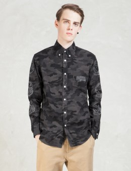 Billionaire Boys Club Black Camo Shirt Picture