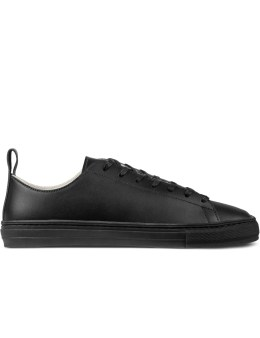 buddy All Black B.T Low Smooth Night Shoes Picture