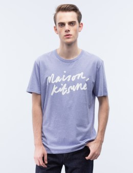 MAISON KITSUNE Handwriting S/S T-Shirt Picture