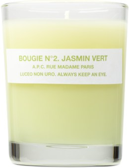 A.P.C. Bougie Parfumee Candle Jasmin Picture