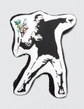 "Medicom Toy Sync.-Brandalism ""Flower Bomber"" Plush Cushion Picture"