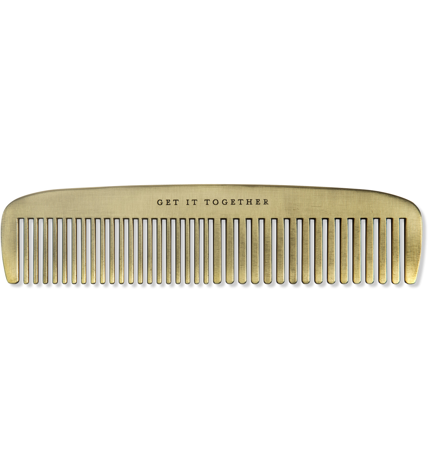 IZOLA Get It Together Brass Comb