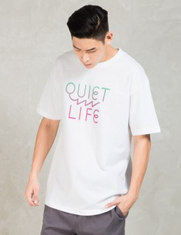 The Quiet Life White Zig Zag T-shirt Picture