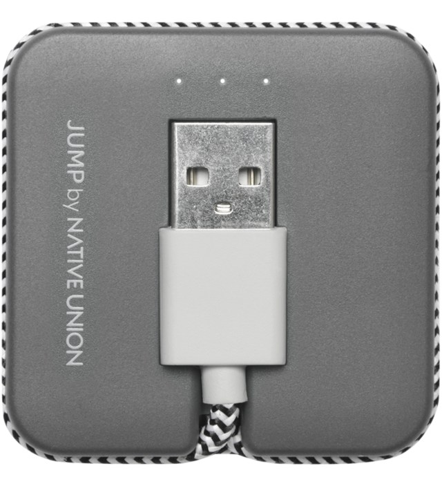 Native Union Slate Jump Cable (Lightning)