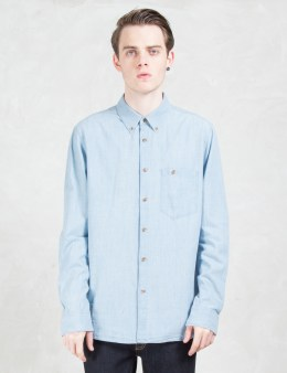 Nudie Jeans Stanley Denim Shirt Picture