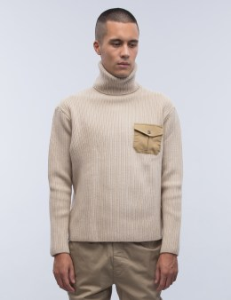 MT.RAINIER DESIGN Pocket Turtleneck Knit Picture