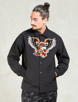 FACETASM Black Eagle Coach Jacket Picture
