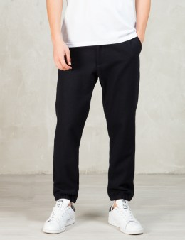Still Good Navy Wool Jogger Pants Picture
