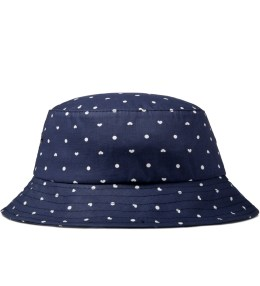 The Ampal Creative Navy Dottie Bucket Hat Picture