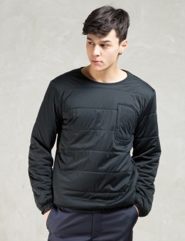 snow peak Black Flexible Insulated Pullover Picture