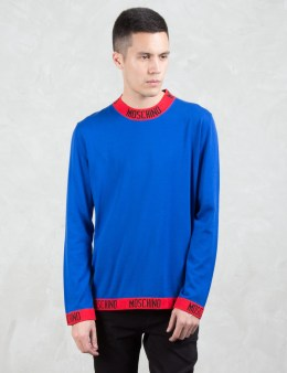 MOSCHINO Moschino Ribs L/S Sweater Picture