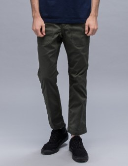 White Mountaineering Stretch Triple Needle Puckering Pants Picture
