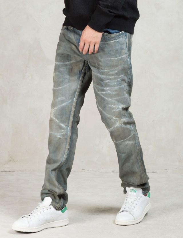 Denham Grey Razor Jag Slim Fit Jeans Hbx