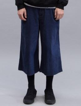 SASQUATCHFABRIX. Cropped Denim Pants Picture