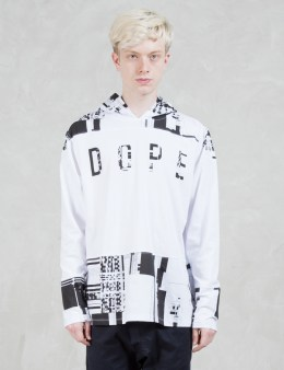 DOPE Glitch Hooded L/S T-Shirt Picture