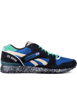 Reebok Black/handy Blue/oatmeal/glass Green/teal Gl 6000 Trail Picture