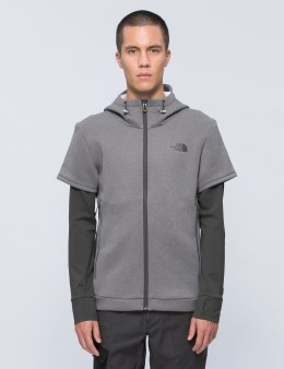 The North Face Get Better Hybrid Zipup Hoodie Picture