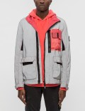 STONE ISLAND Garment Dyed Plated Reflective Jacket Picture
