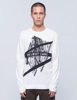 HELMUT LANG Glacial Print L/S T-Shirt Picture