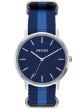 Nixon Porter Nylon with Navy Dial Picture