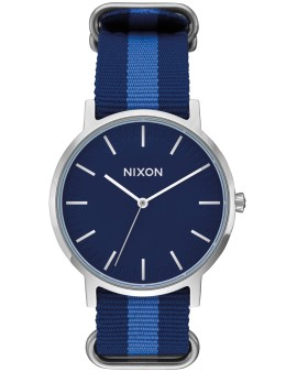 Nixon Porter Nylon with Navy Dial Picture