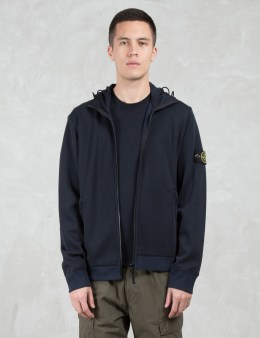 STONE ISLAND 64266 Zip Pocket Hoodie Picture